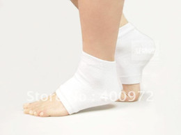 Wholesale Beauty Heel Pads Socks for Calluses amp Cracks Gel Spa Socks