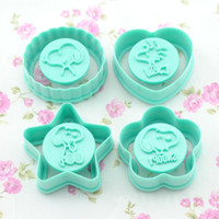 Wholesale Set Snoopy Cake Decorating Cutter Fondant Mold Sugar Tool