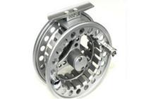 Wholesale Die casting fishing reels full metal fishing fly reel BLE85 Ball bearings BB Reel Dia mm