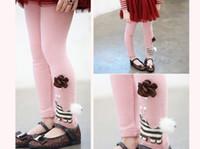 Promotion Girls Leggings 100% cotton Leggings for Kids in Sp...