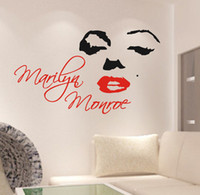 Wholesale Home decoration Marilyn Monroe South Korea fashion DIY since generation sculpture class PVC bed room cheap wall stickers wall paper