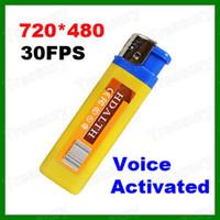 Wholesale Spy Lighter Camera Hidden USB Mini DV Camcorder FPS Voice Activated