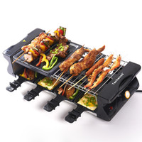 Wholesale Household electric grill BBQ Large slate cabob omelettes seafood multifunctional fruit and vegetable