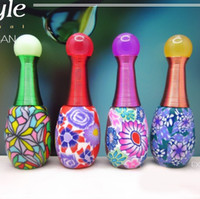 atomizers for perfume - 10ml Oval Polymer Clay Spray Bottle Perfume Bottle with Atomizer Best Gift for Girls DC128