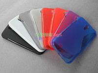 Silicone For Samsung  S Line Silicone TPU Gel Case Cases Cover Shell for Samsung Galaxy Mega 6.3 I9200 200pcs 100pcs