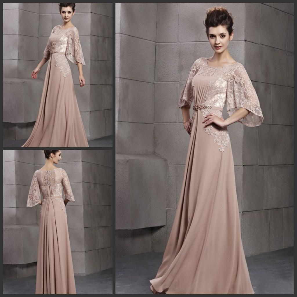 European Style New Lace Body Chiffon Gorgeous Evening Dress Formal ...