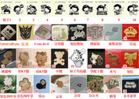 Wholesale 2012 new K Gold Sticker Anti Cell Phone LCD Keyboard Radiation mobile phone sticker