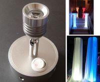 Wholesale Cordless battery powered LED uplight wall washer light for wedding events decor lighting adjustable flood lamp