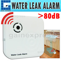 Wholesale E04 Wireless Mini Water Leak Level Alarm gt dB Detector Sinks Aquariums Sump Pumps Washing Machines Dishwashers Leakage Sensor
