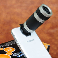 Wholesale 8X Zoom Telescope Camera Lens W Clear Case Cover for Samsung Galaxy S4 i9500