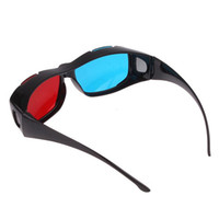 Wholesale Freeshipping Red Blue D Dimensional Glasses for D DVD Movie Game hot sale