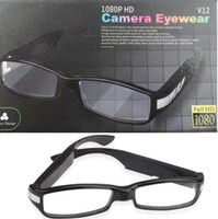 Support 32G TF Card No  HD Hidden Glasses Camera Manufacturer 1080P Spy DVR 2013 Factory Price Free Shipping