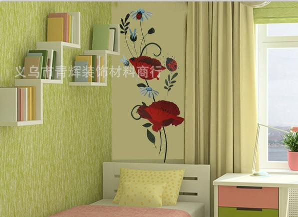 Wholesale Wall Sticker Flower - Buy Removable Flower Wall Sticker
