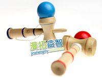 Wholesale Funny Bahama Traditional Wood Game Skill Kendama Ball Children Educational Toy