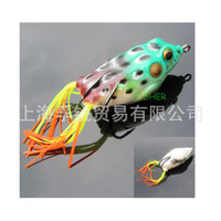 Wholesale hot10pcs soft frog lure with hooks cm g fishing lure good quality
