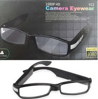 Support 32G TF Card No  2013 Office Spy Glasses Camera HD 5 mega pixels Real time recording Hidden DVR Video Resolution: 1920x1080 Free Shipping