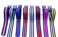 Wholesale High quality MM Nylon Watch band NATO waterproof watch strap fashion wach band color available