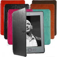 Wholesale Slim Cute Folio Leather Case Cover Hard Shell For Kindle th