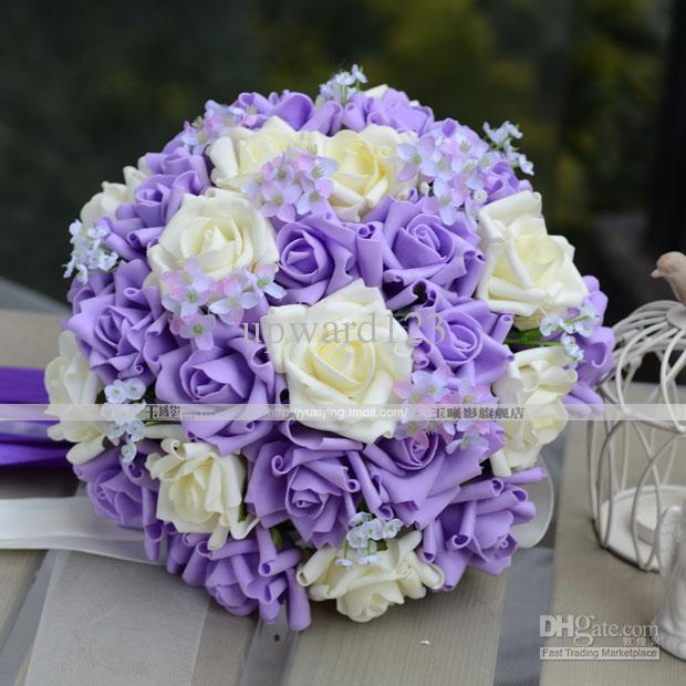 New Style Handflower Wedding Bouquet - 55.5KB