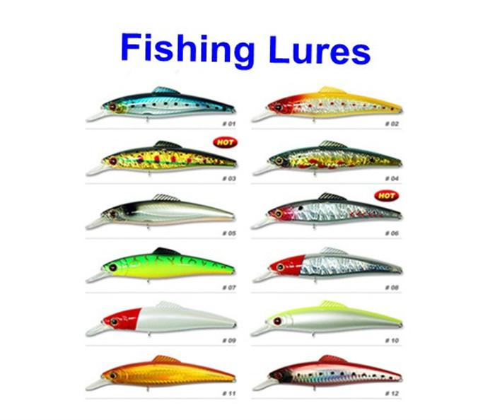Fishing hook types and uses for Types of fishing lures