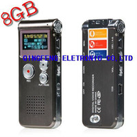 Wholesale Multifunctional Rechargeable GB GB HR Digital Audio Voice Recorder Dictaphone MP3 Player