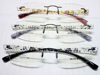 Wholesale new arrival eyeglasses TR90 rimless Optical frame eyewear