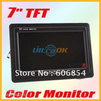 Wholesale 7 quot TFT LCD Color Car Rearview Headrest Monitor
