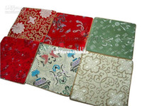 Wholesale Decorative Cloth Mouse Pads Silk Print Non slip Chinese style Designs mix color Free