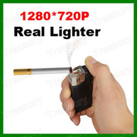 None   HD 720P Real Lighter Spy Hidden Camera Video Recorder Mini DV USB DVR Video Camcorder 1280*720