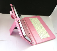 Wholesale Stand USB Keyboard Leather Case Stylus Flim For quot DeLL XPS Latitude Win8 Tablet Free Shpping