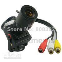 Yes Sony Guangdong China (Mainland) Hot Sale New 600TVL High Resolution Mini 2.8-12mm Manual IRIS MTV Lens CMOS CCTV Security Audio Vide