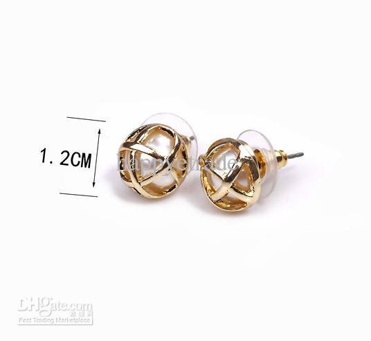 Pearl Stud Earrings Wholesale Pearl Stud Earrings Lady's