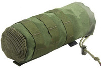 Wholesale New Molle System D Nylon Fabic Cantee Pouch Kettle Pouch bags Green