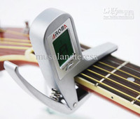 Wholesale AROMA metal capo and automatic tuner copact