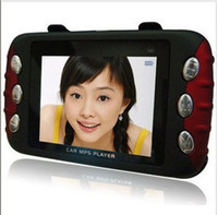 MP3/MP4 Transmitter   Best cheap Auto MP5 transmitter Home car dual purpose player 2.4 inches Screen free shipping