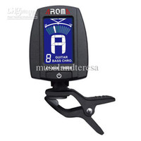Wholesale AROMA DIGITAL ELECTRIC ACOUSTIC BASS CHROMATIC GUITAR TUNER