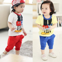 Wholesale boy s suits girls sets kids t shirts tank tops jersey pants cotton outfits jumpers blouses knickers buggy panties tshirts short pant Z207