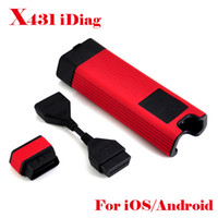 Wholesale X431 Diagnostic Tool Auto Diag Launch Idiag Car Scan Scanner OBD Equipment For iOS Android System X Low Price Original DHL EMS Free