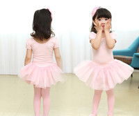 Wholesale girl clothing Ballet Skirts Costume purity performance wear kids dress year baby dresses size pink