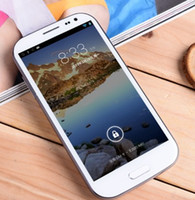 FeiTeng 5.0 Android 4.2 H9500 Android 4.2 cell phone 1:1 S4 with free battery back case MTK6589 Quad core 5 inch 3G Android cell phone HK post