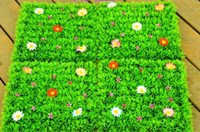 Wholesale Simulation grass artificial turf artificial grass carpet flower lawn