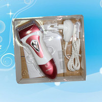 Wholesale Waterprof Electric Removal Lady Shaver Epilator Clipper Skin Care Depilator Lady Shaver