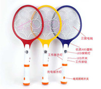 Wholesale New arrival Electronic Mosquito Insect Bug Electric Fly Zapper Swatter Eu AL Plug