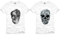 Wholesale new arrival skull tee KPOP EXO T SHIRT EXO K EXO M T SHIRT skull printed t shrts kris t shirt designs cotton
