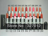 Wholesale 20 New lustre lipstick rouge a levres g makeup lipstick Will English name