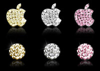 Wholesale Crystal Bling Home Button Sticker Skin for Apple iPhone G G S G GS ipod ipad