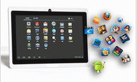 Wholesale 7inch Tablet PC Capacitive Screen Android Q88 Allwinner A13 MB DDR3 GB WIFI Camera