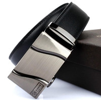 Wholesale Strap male genuine leather camel the broadened discoloration fashion belt automatic buckle cowhide belt