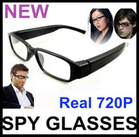 Wholesale HD Digital Video spy Camera P Camcorder CMOS MP Glasses Eyewear spy DVR cam