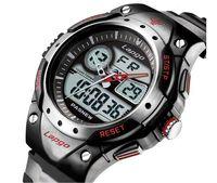 Wholesale Upgrade version multi functional electronic dive watch men student meters waterproof hiking Sports wrist watch